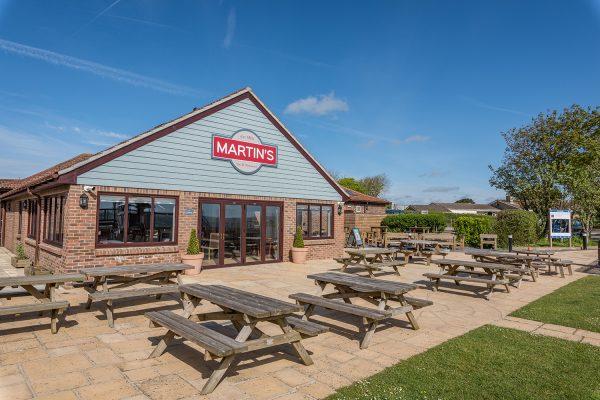 Martin's Bar & Restaurant in Bridport, Dorset