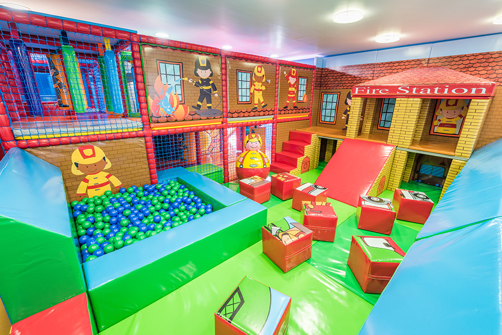 Little Fire Station Soft Play