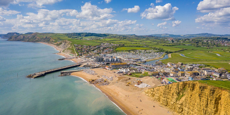 West Bay   Dorset Beaches   West Dorset Leisure Holidays
