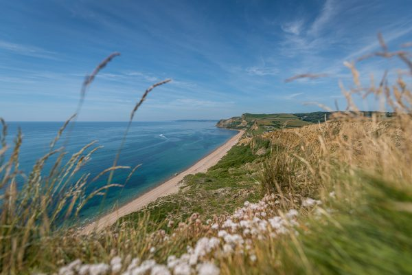 Eype Beach in Dorset