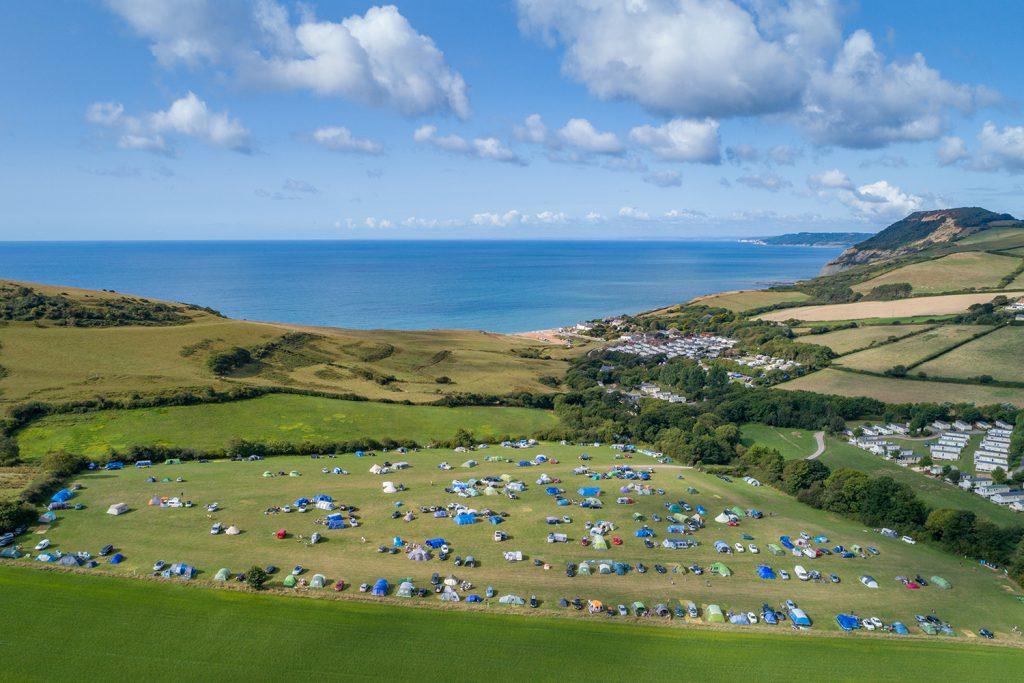 Campsites in Dorset