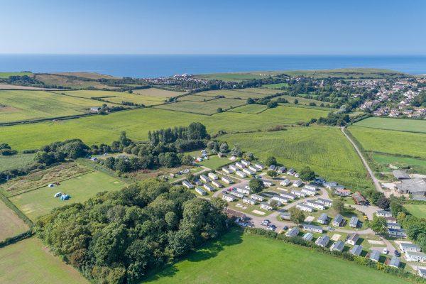 Graston Copse Holiday Park in Dorset
