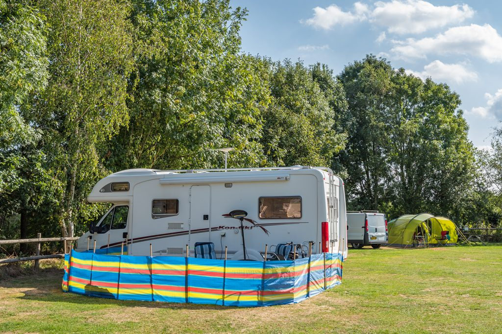 Graston Copse motorhome Holiday Park in Dorset