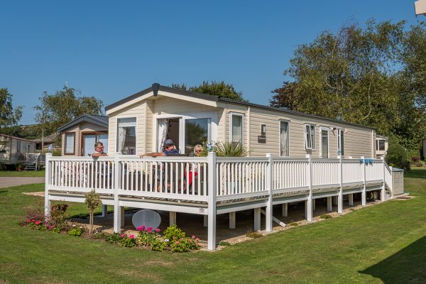 Graston Copse Holiday Park in Dorset
