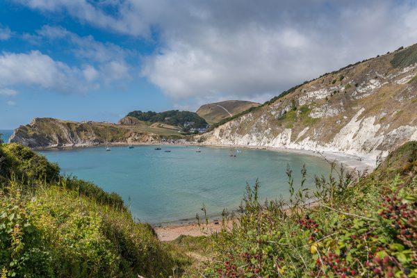 Lulworth Cove in Dorset