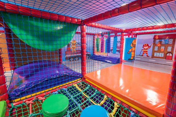 The Little Fire Station Soft Play in Bridport, Dorset