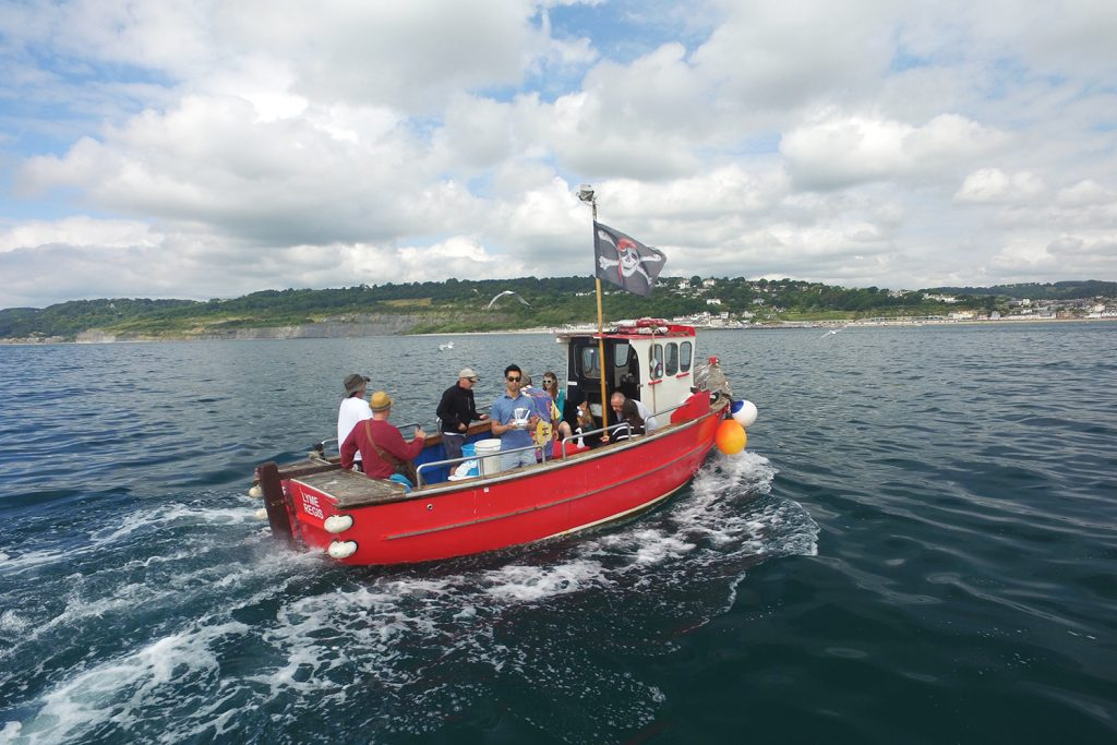 Harry May Fishing Trips in Lyme Regis, Dorset