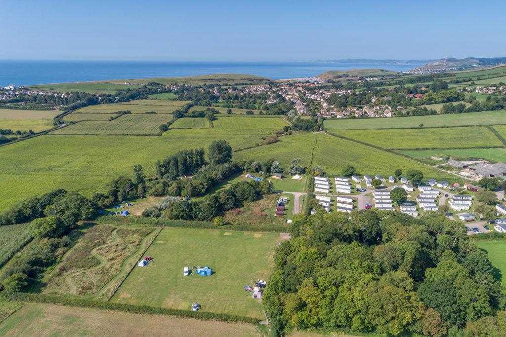 Camping in Burton Bradstock Dorset