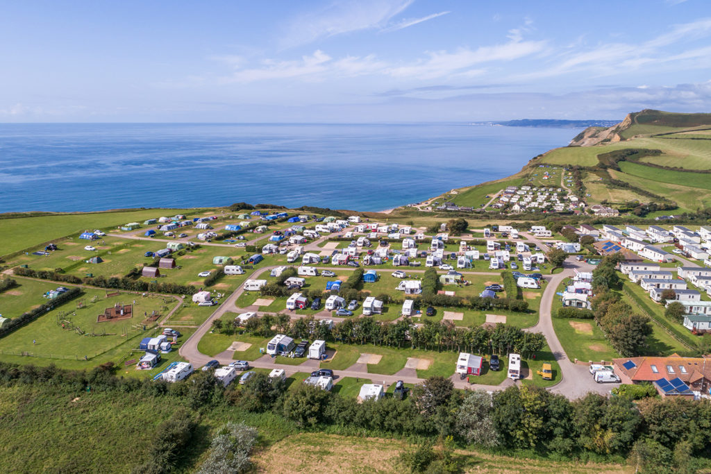 Seaview touring pitches