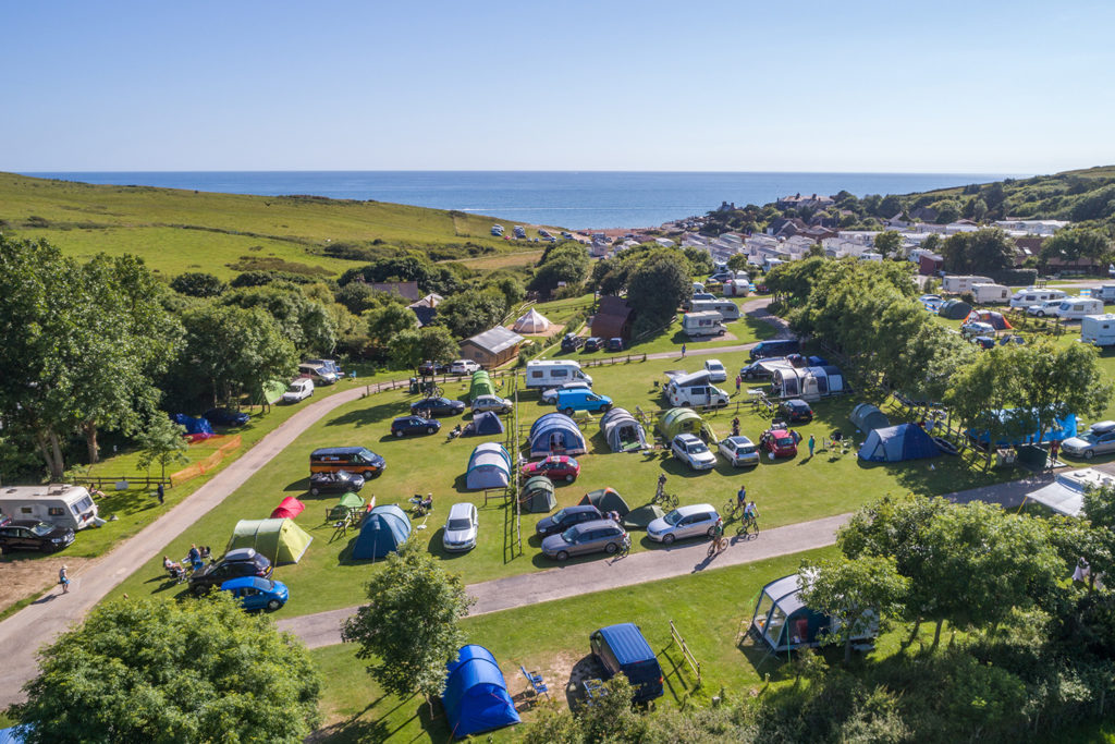 Camping holidays in Dorset