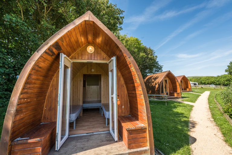Camping Pod holidays in Dorset