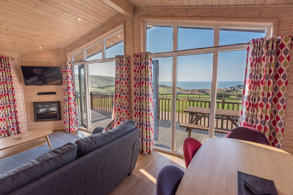 Seaview holidays in Dorset at Golden Cap Holiday Park