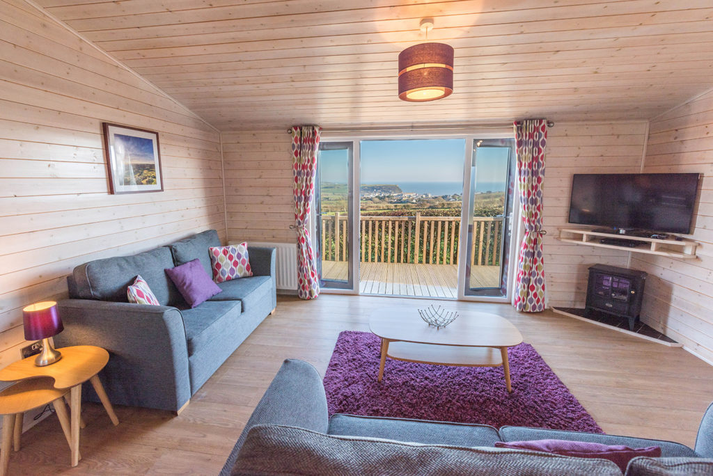 Dog friendly holidays in Dorset at Highlands End Holiday Park