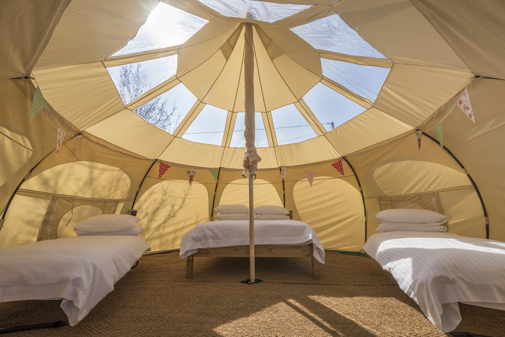 Glamping holidays on the Jurassic Coast