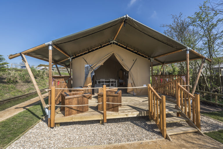 Safari Tent holidays in Dorset