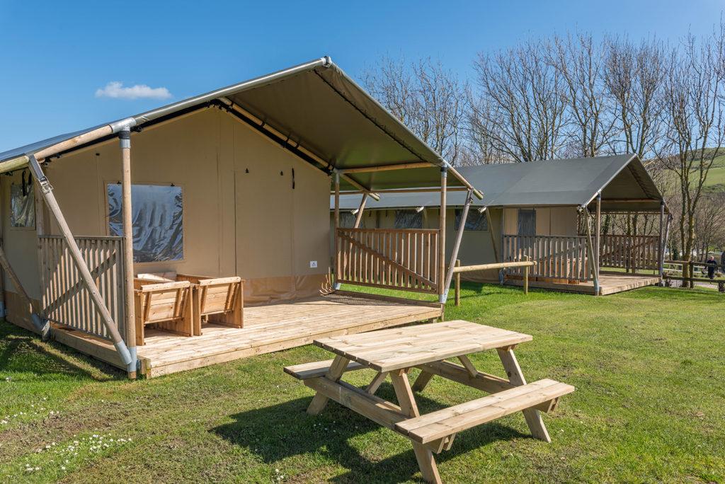 Safari Tent holidays in Dorset