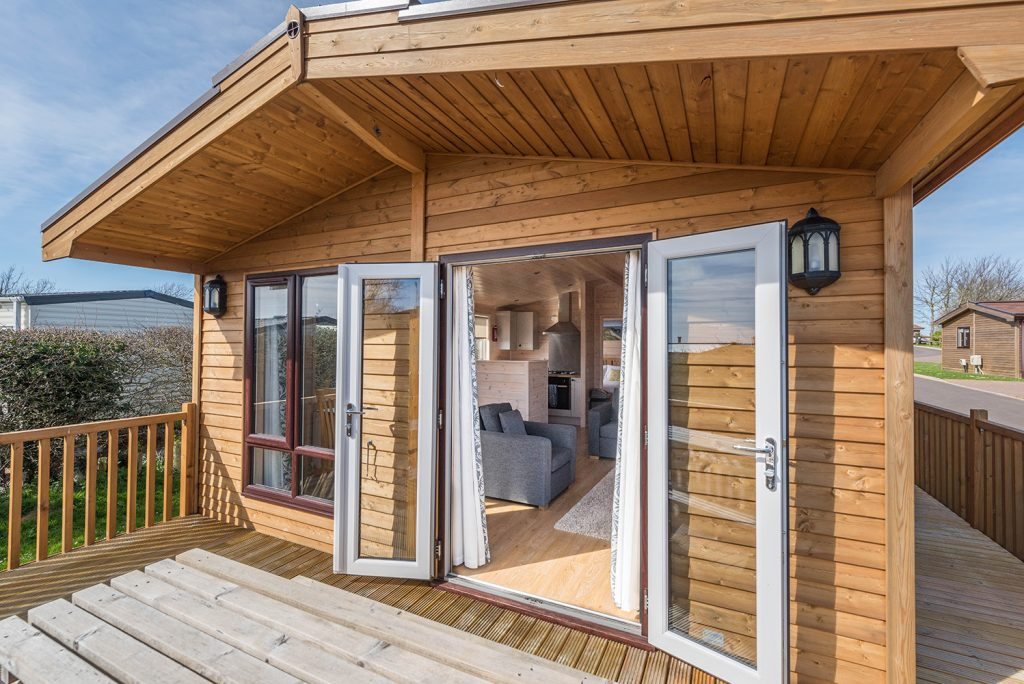 Lodge holidays for couples in Dorset at Highlands End Holiday Park