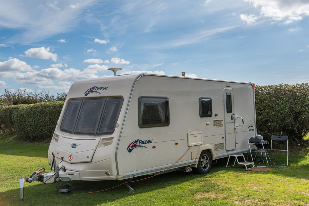 Touring pitches on the Jurassic Coast