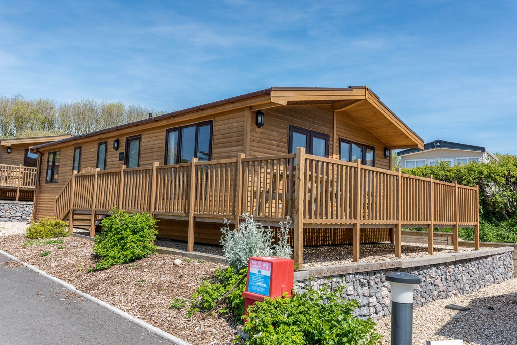 Lodge holidays at Golden Cap