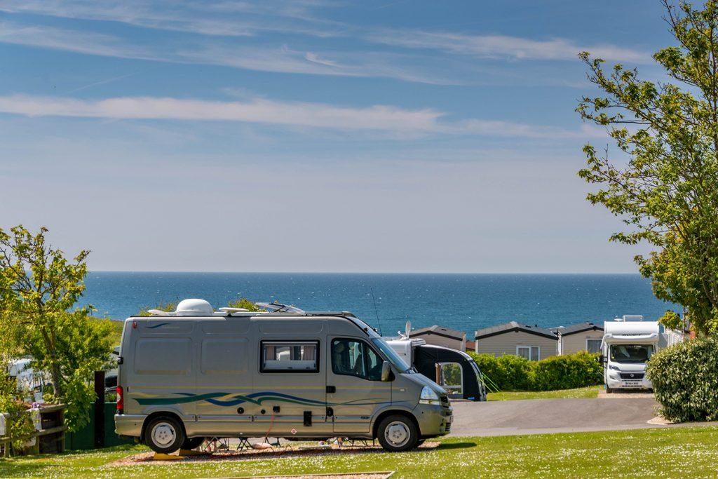 Golden Cap Motorhome and Touring Caravan Holidays in Dorset