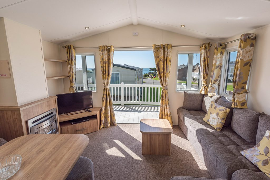 Caravan holidays in Dorset at Golden Cap Holiday Park