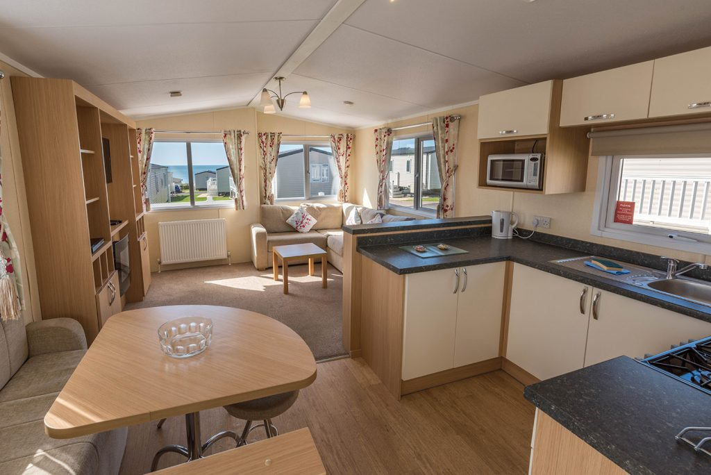 Dog friendly holidays in Dorset at Golden Cap Holiday Park