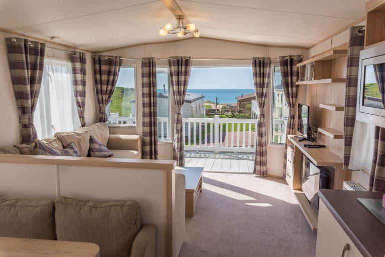 Caravan holidays in Dorset at Golden Cap Holiday Park