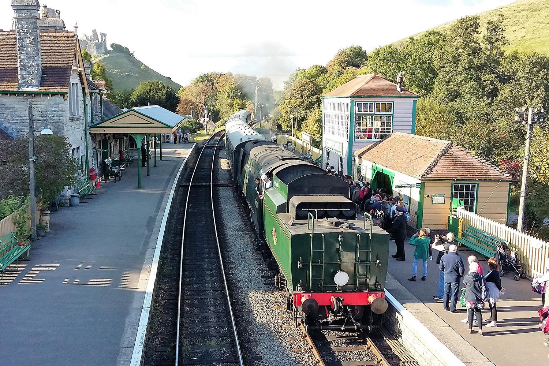 Swanage Railway in Dorset