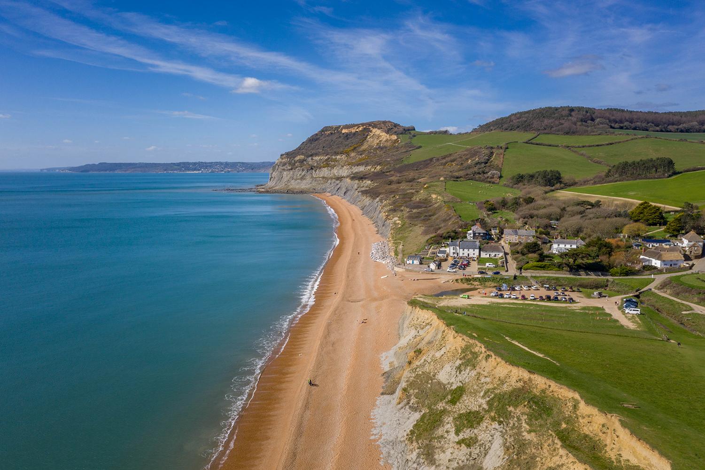 Golden Cap Holiday Park on the Jurassic Coast in Dorset
