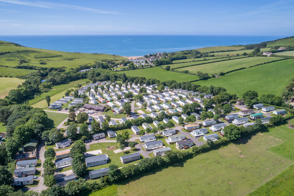 Golden Cap Holiday Park in Dorset