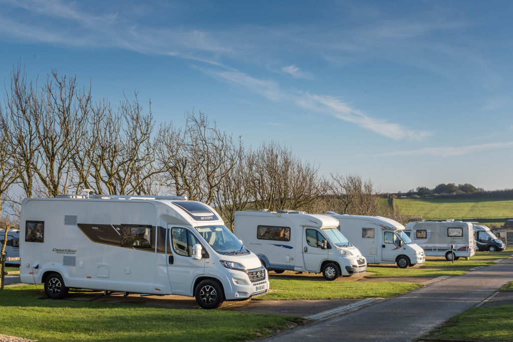Motorhome holidays in Dorset.