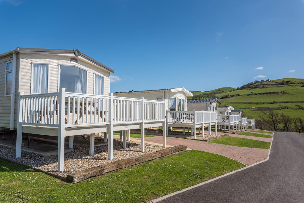 Caravan holiday homes in Dorset