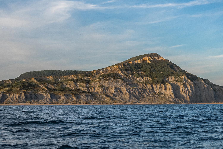 Golden Cap in Dorset