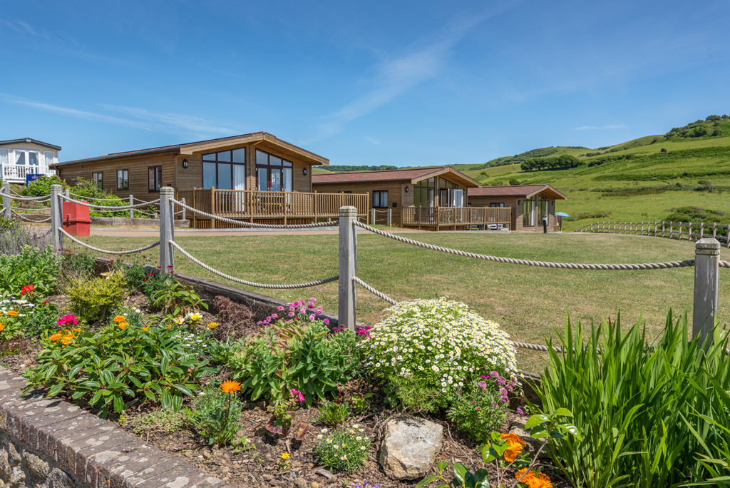 Self Catering holidays in Dorset at Golden Cap Holiday Park