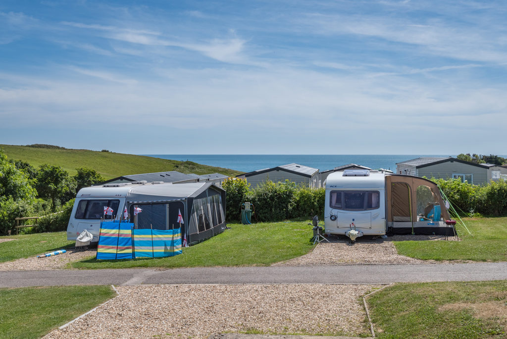 touring caravan holidays in Dorset
