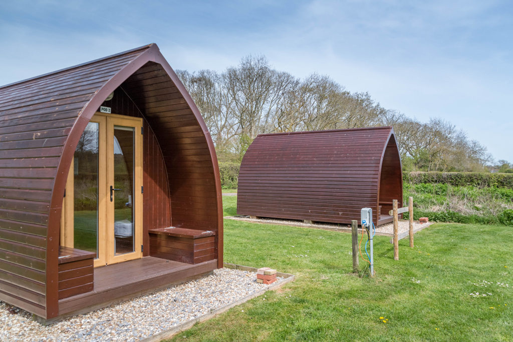Glamping in Dorset at Graston Copse Holiday Park