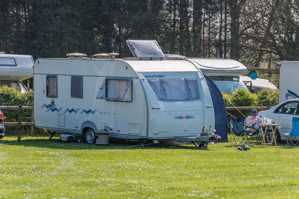 Touring caravan holidays in Dorset at Graston Copse Holiday Park