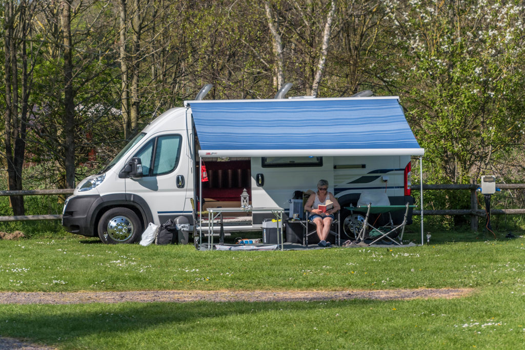 motorhome holidays in Dorset at Graston Copse Holiday Park