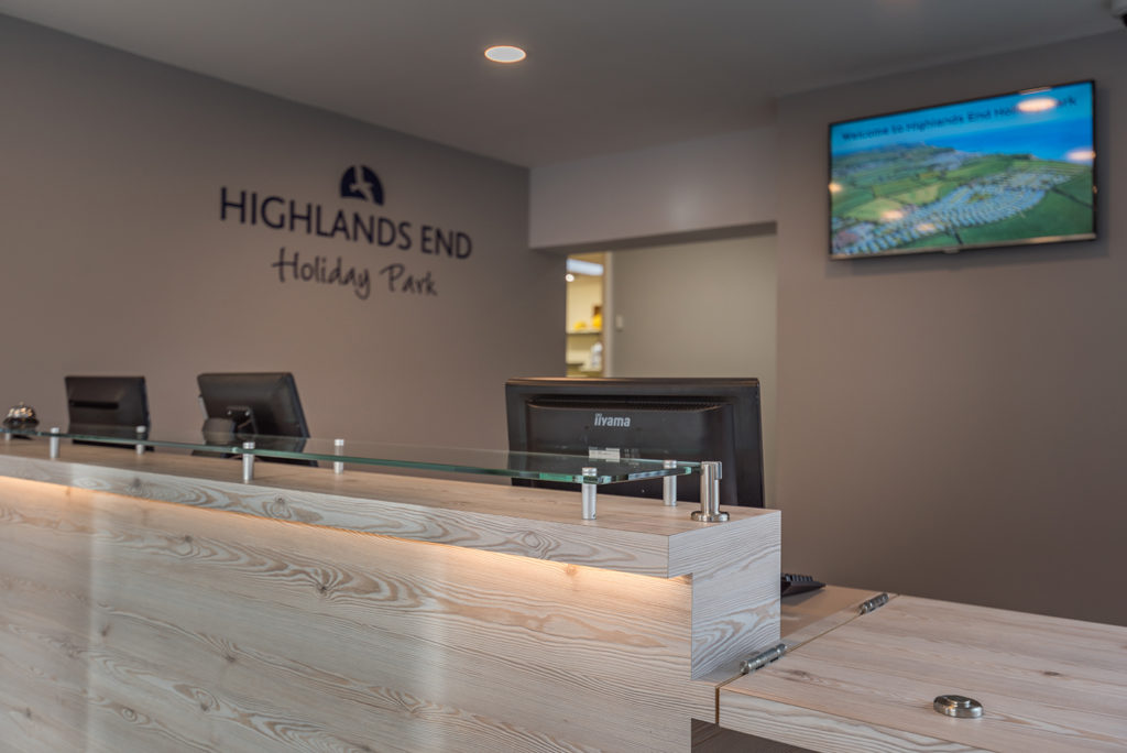 Highlands End Holiday Park Reception