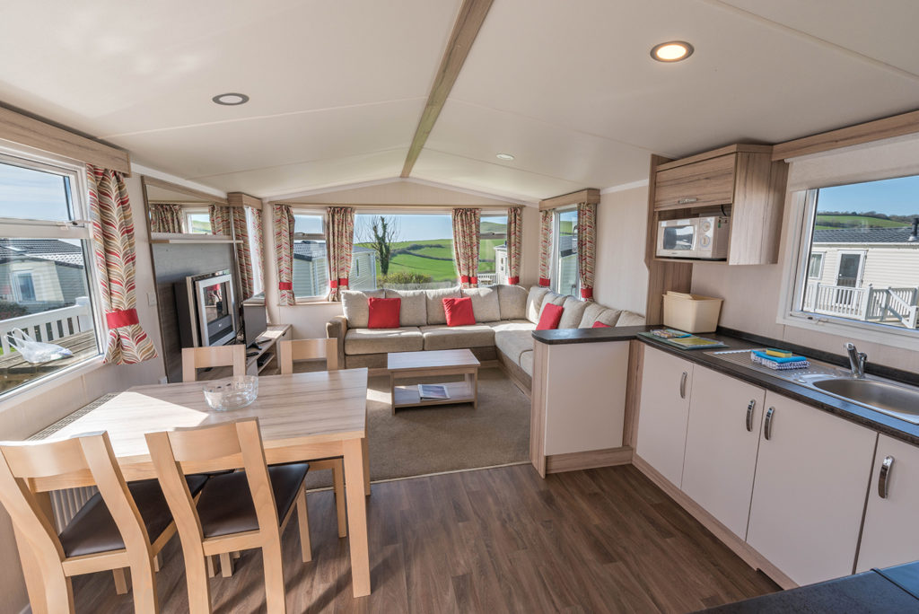 Caravan holidays in Dorset