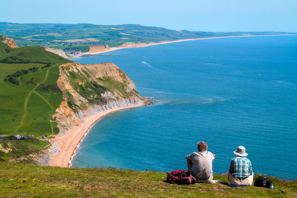 Golden Cap in Dorset