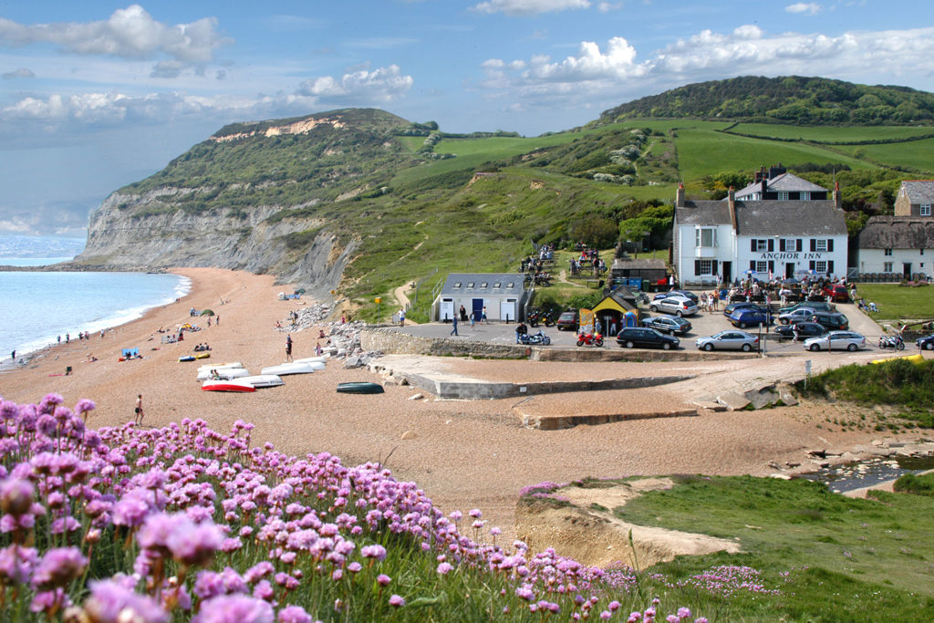 Golden Cap Holiday Park on the Jurassic Coast in Dorset