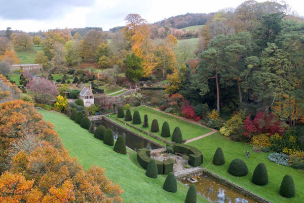 Mapperton House and Gardens in Dorset