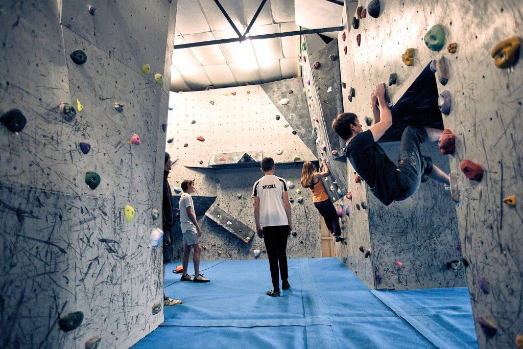 rockburn indoor climbing