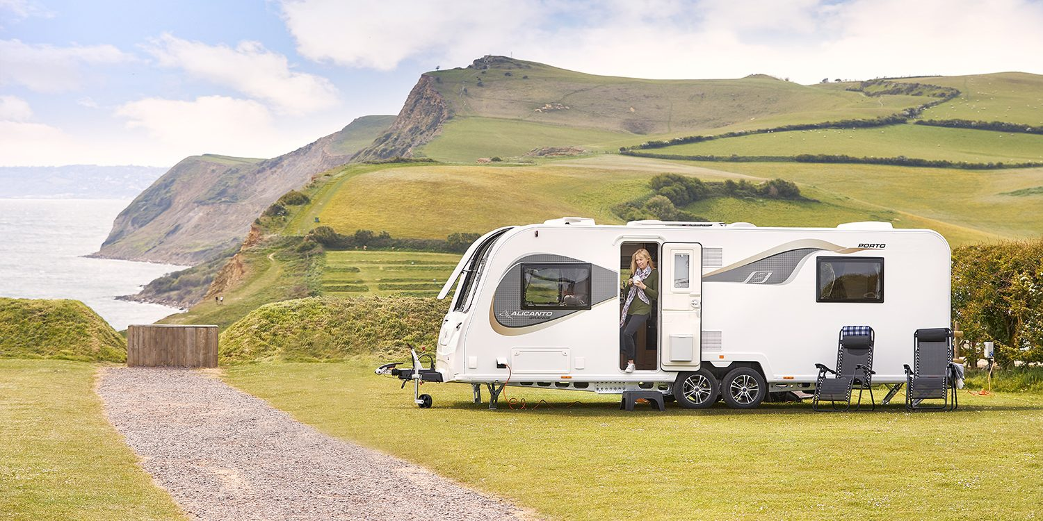 Bailey of Bristol touring caravan promotion.