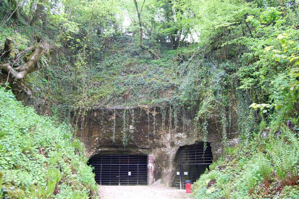 Entrance to Beer Quarry Caves