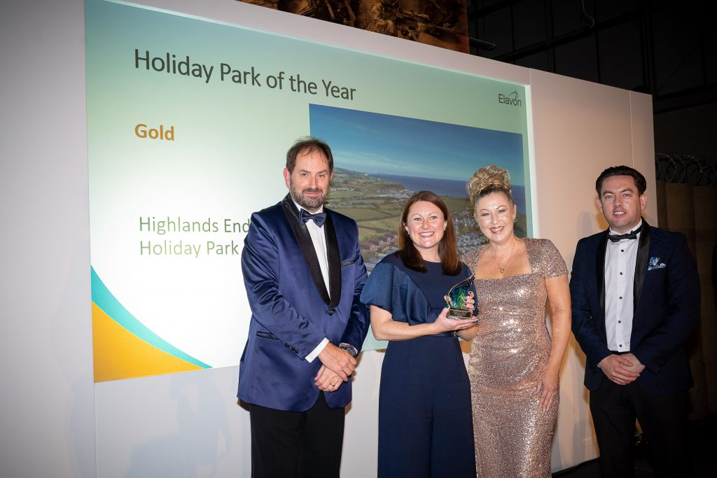 Holiday Park of the Year winners.