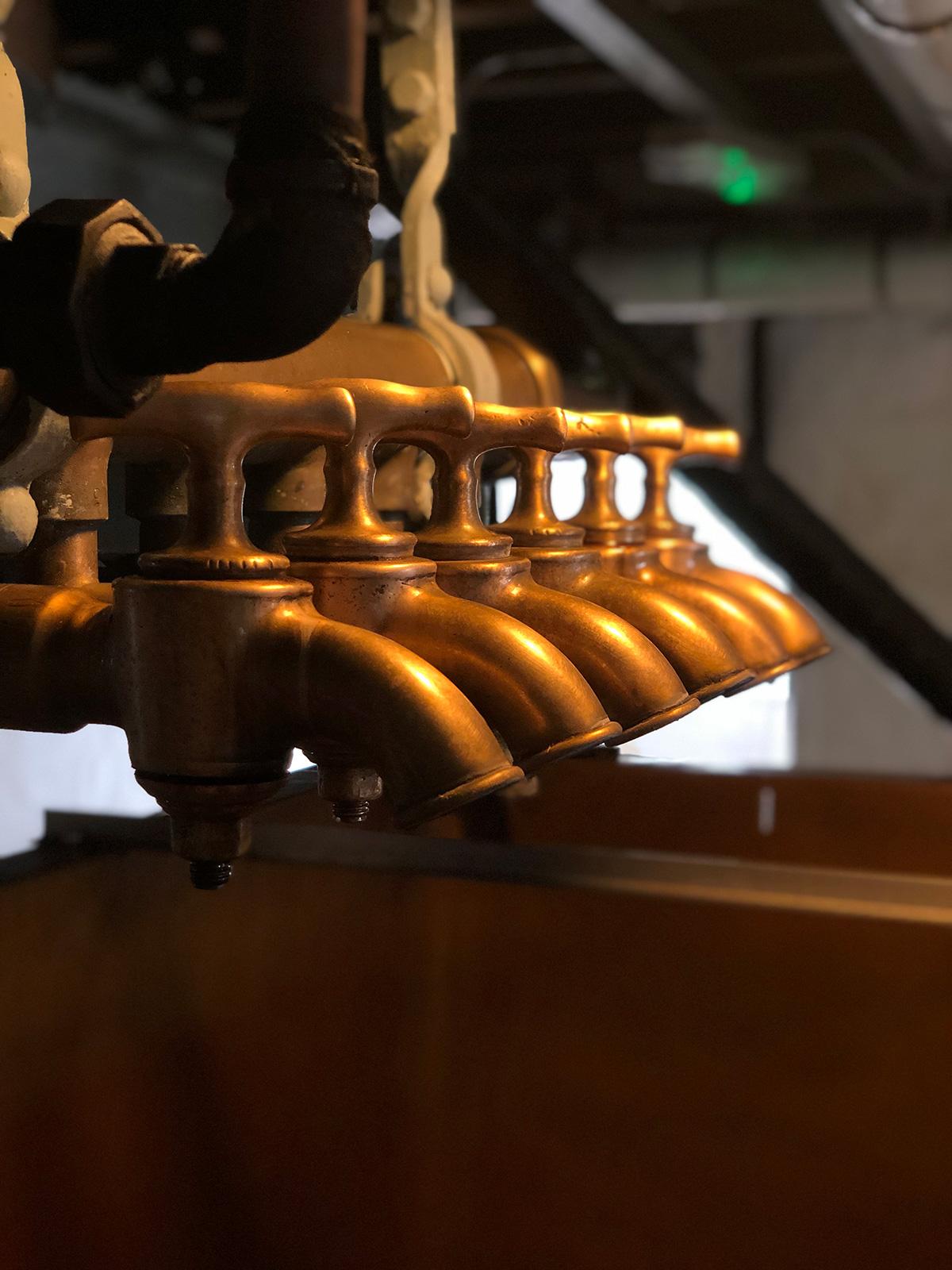 Brewing taps
