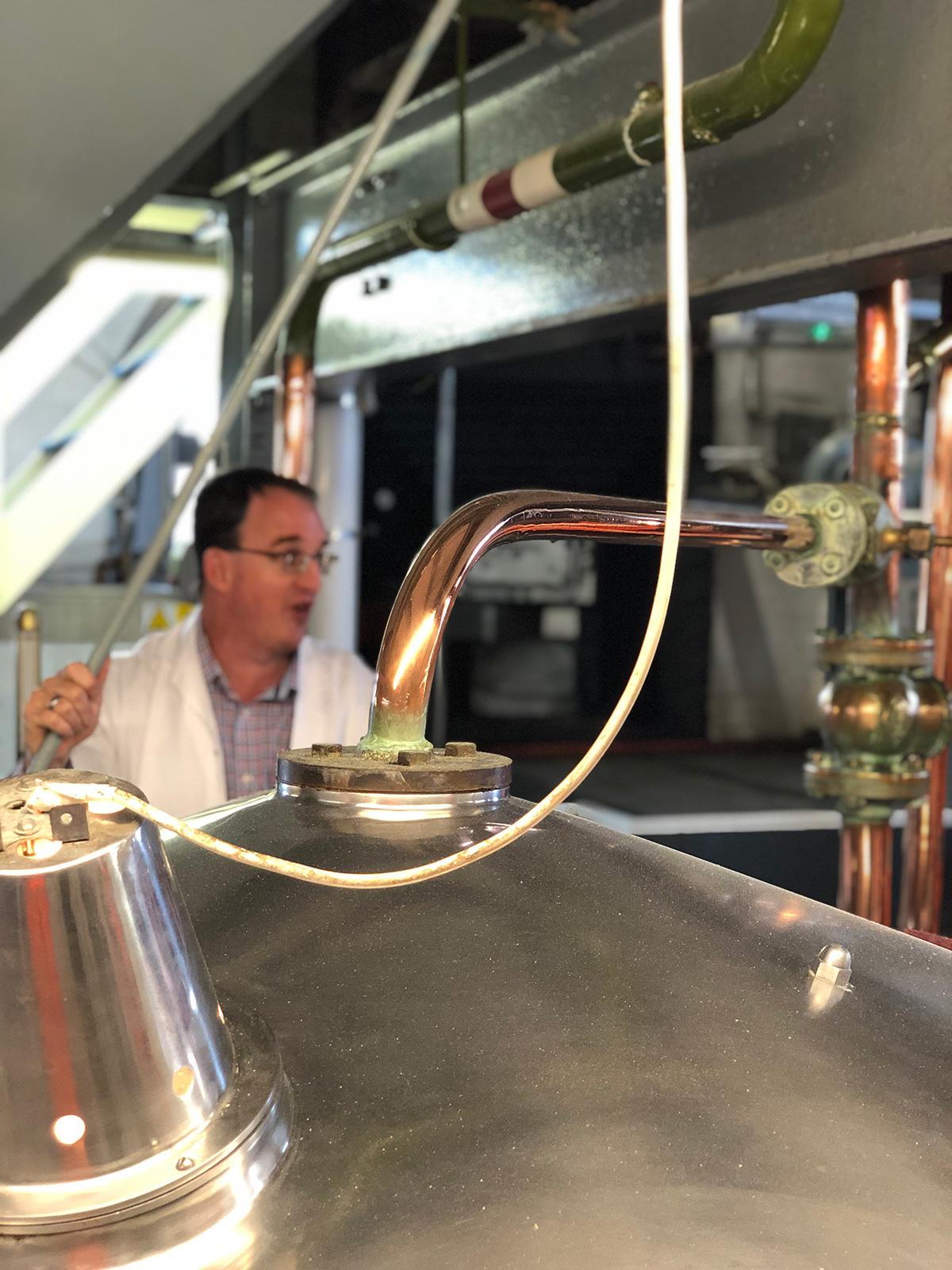 Head Brewer Darren giving a brewery tour.
