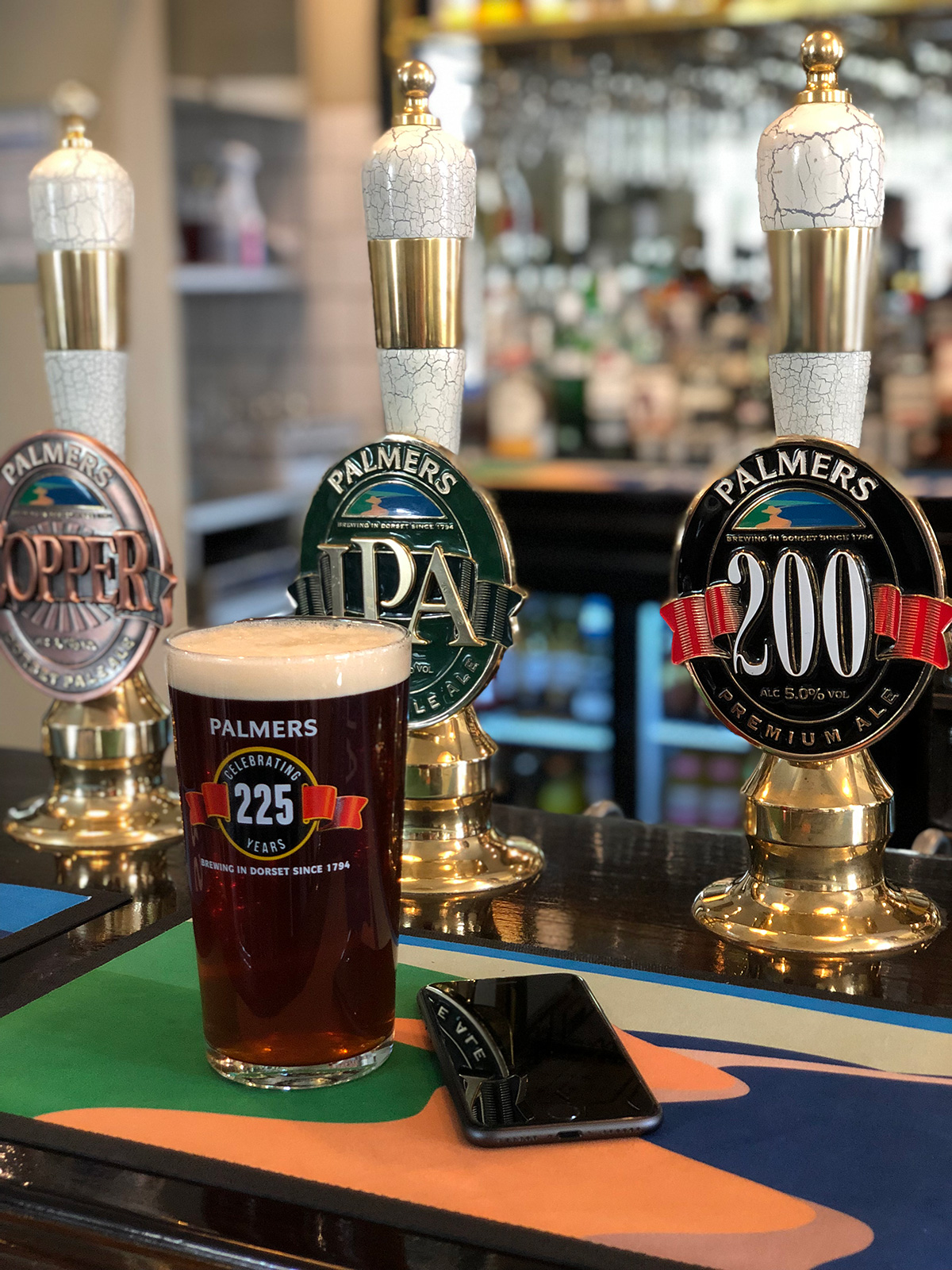Palmers 225 years. Drink after a brewery tour.